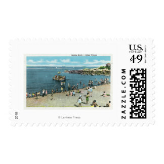 View of the Salem Willows Beach Postage