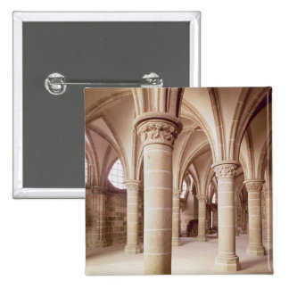 View of the Salle des Chevaliers Pinback Buttons