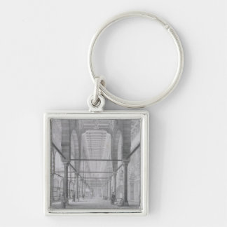 View of the Sanctuary of the Mosque of Moyed, plat Keychain
