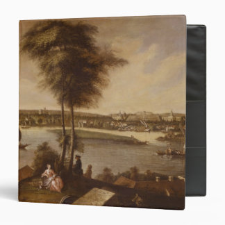 View of the Sanssouci park from Brauhausberg 3 Ring Binder