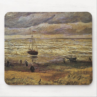 View of the Sea at Scheveningen by van Gogh Mouse Pad