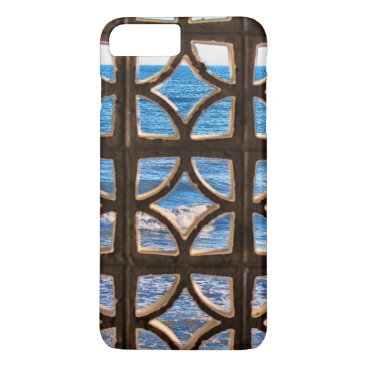Beach Themed View of the Sea iPhone Case