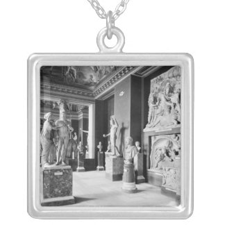 View of the Seasons' room Silver Plated Necklace