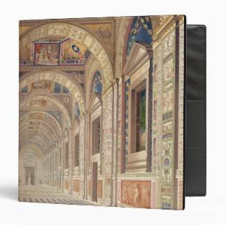 View of the second floor Loggia at the Vatican, wi 3 Ring Binders