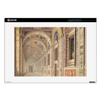 """View of the second floor Loggia at the Vatican, wi Decal For 15"""" Laptop"""