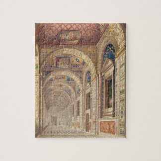 View of the second floor Loggia at the Vatican, wi Jigsaw Puzzle