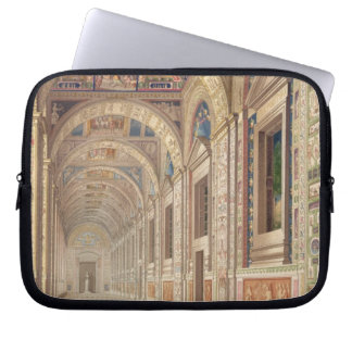 View of the second floor Loggia at the Vatican, wi Laptop Sleeves