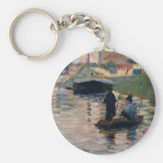 View of the Seine Keychain