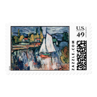 View of the Seine Postage Stamps