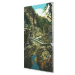 View of the Sentry Bridge & Upper Tunnel Gallery Wrap Canvas