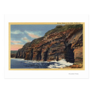 View of the Seven Caves Postcard