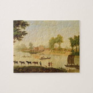 View of the Shepperton on the River Thames, after Jigsaw Puzzle