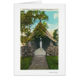 View of the Shrine at Sanitarium in Gabriels Card