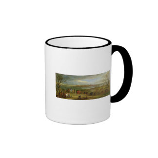 View of the Siege of Dole Ringer Mug