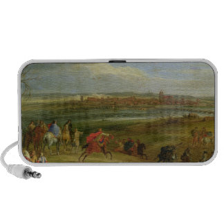 View of the Siege of Dole Mini Speaker