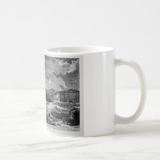 View of the site where was the ancient Roman Forum Coffee Mug