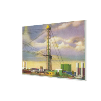 View of the Social Science and Sky Ride Canvas Print