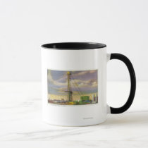 View of the Social Science and Sky Ride Mug