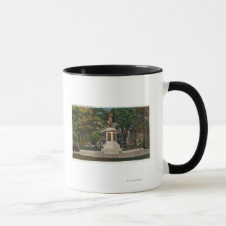 View of the Soldiers' Monument Mug