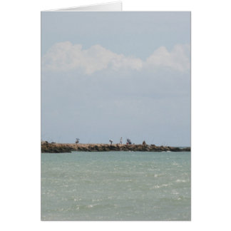 View of the South Jetty Inlet Card