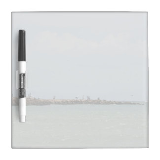 View of the South Jetty Inlet Dry Erase Board