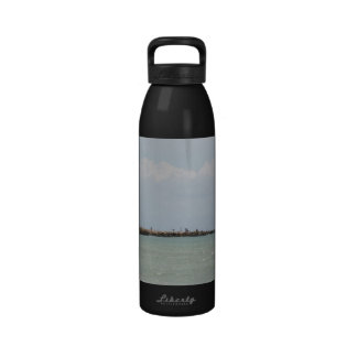 View of the South Jetty Inlet Reusable Water Bottles