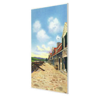 View of the South Platform Canvas Print