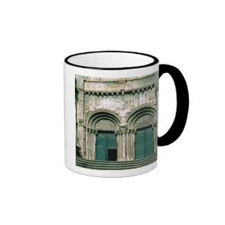 View of the south transept portal  c.1100-04 coffee mug