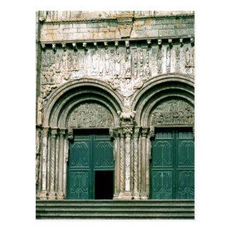 View of the south transept portal  c.1100-04 postcard