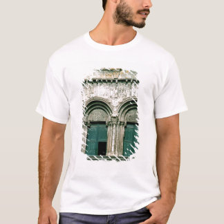 View of the south transept portal  c.1100-04 T-Shirt