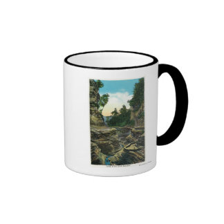 View of the Southern Entrance Gorge Ringer Mug