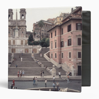 View of the Spanish Steps or Scalinata Binders