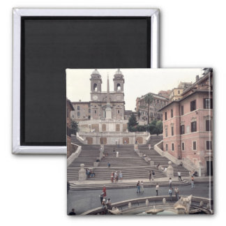 View of the Spanish Steps or Scalinata Magnet