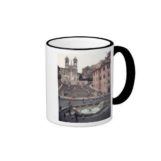 View of the Spanish Steps or Scalinata Ringer Coffee Mug