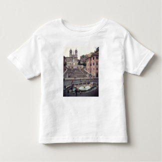 View of the Spanish Steps or Scalinata Shirt