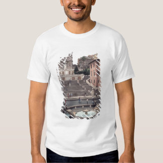 View of the Spanish Steps or Scalinata T Shirt
