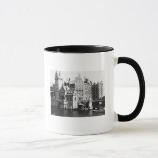 View of the Speicherstadt  Hamburg, c.1910 Mug