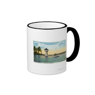 View of the Spindle Point Observatory, the Ringer Coffee Mug