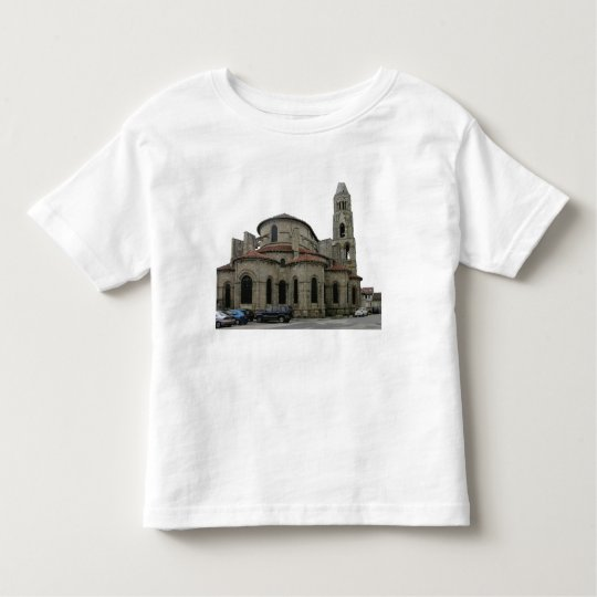 View of the spire of the church (photo) toddler t-shirt