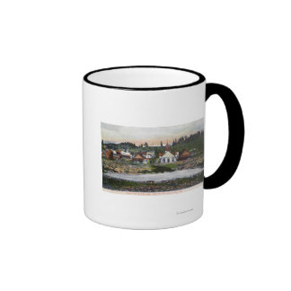 View of the Springs and Town Ringer Mug
