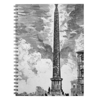 View of the Square and Basilica of St. John Latera Notebook