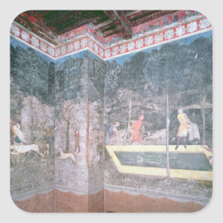View of the Stag Room, 1343 Square Sticker
