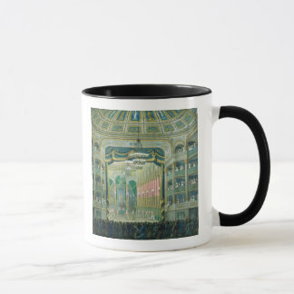 View of the Stage of the Paris Opera Mug