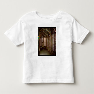 View of the stained glass windows toddler t-shirt