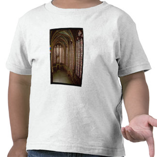 View of the stained glass windows tee shirts