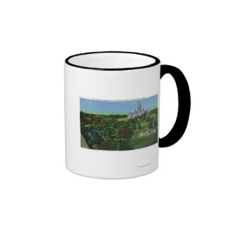 View of the State Capitol Grounds, Memorial Arch Ringer Mug