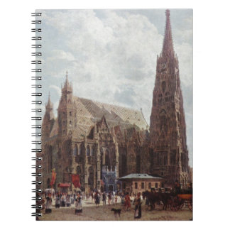 View of the Stephansdom from Stock im Eisen Platz Notebook