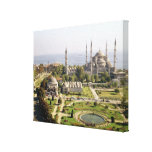 View of the Sultan Ahmet Camii  built 1609-16 Canvas Print