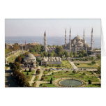 View of the Sultan Ahmet Camii  built 1609-16 Card