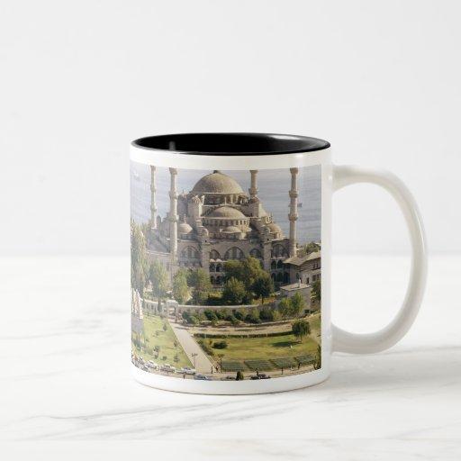 View of the Sultan Ahmet Camii  built 1609-16 Two-Tone Coffee Mug